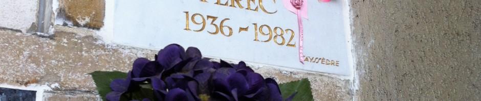 ペレックのお墓